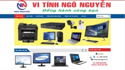website linh kiện điện tử Vi Tính Ngô Nguyễn