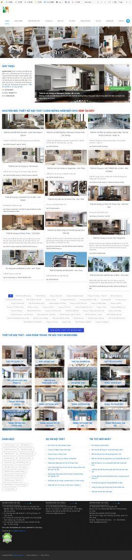 Mẫu website nội thất 10245