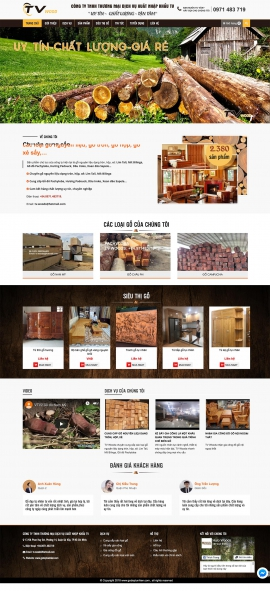 Mẫu website ,nội thất 13516