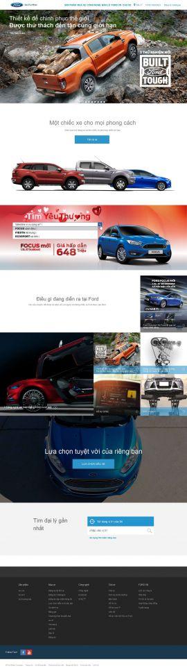 Mẫu website Ôtô 10260