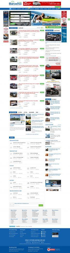 Mẫu website Ôtô 10261