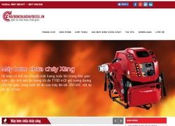 website phòng cháy chữa cháy do web số thiết kế cho Công Ty TNHH Thương Mại Kỹ Thuật Công Nghệ Đông Nam