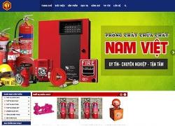 website phòng cháy chữa cháy CÔNG TY TNHH TNHH MUA BÁN THIẾT BỊ PCCC NAM VIỆT