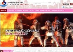 website phòng cháy chữa cháy Công ty TNHH XNK TM DV PCCC Phát Đạt