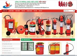 website phòng cháy chữa cháy CÔNG TY TNHH XUẤT NHẬP KHẨU-TM-DV TIẾN PHÁT