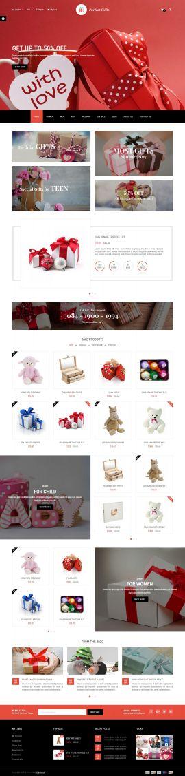 Mẫu website quà tặng 3241