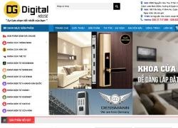 website thiết bị dụng cụ Công ty TNHH SX TM XNK Dương Gia do web số đảm nhiệm thiết kế