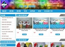 website thiết bị dụng cụ Công Ty TNHH SX TM XNK Tân Gia Hoàng do web số thiết kế