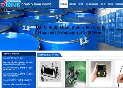 website thiết bị, dụng cụ Công ty TNHH VNNDT