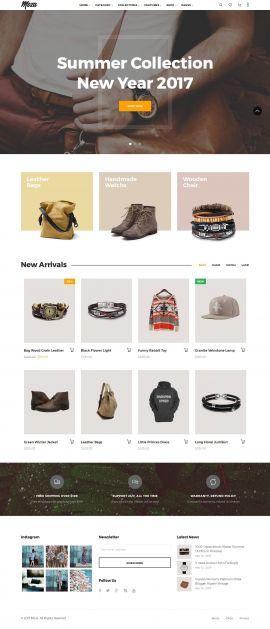 Mẫu website thời trang 12452