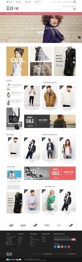 Mẫu website thời trang 12454