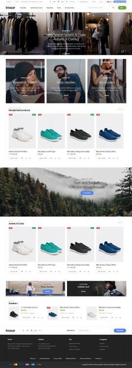 Mẫu website thời trang 12455