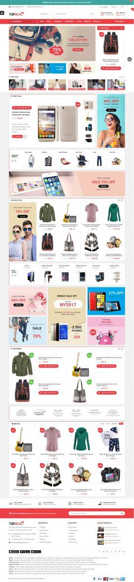 Mẫu website thời trang 12456