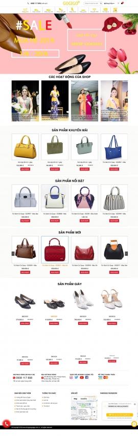 Mẫu website Thời trang 13481