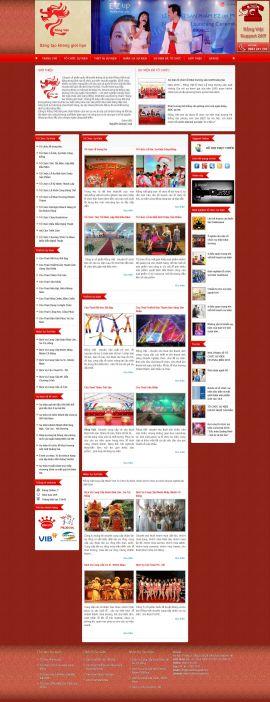 Mẫu website tổ chức sự kiện 10375