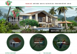 website xây dựng Công ty VinaHome