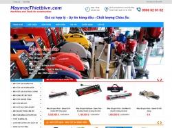 Thiết kế website thiết bị dụng cụ Máy móc thiết bị