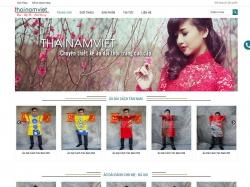 Thiết kế website thời trang Thái Nam Việt