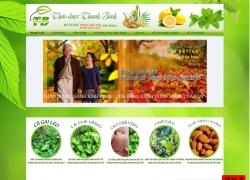 website bán hàng Trà Thảo Dược Thanh Bình