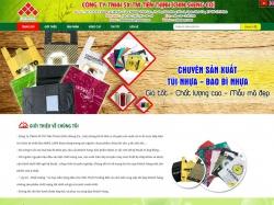 Thiết kế webite giới thiệu doanh nghiệp Tiến Thịnh