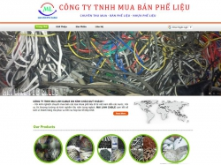 Thiết kế website bán hàng công ty Mai Linh PVC