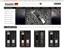 Thiết kế website bán hàng Kaadas