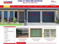 Thiết kế website bán hàng Katidoor