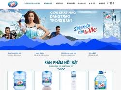 Thiết kế website bán hàng lavie