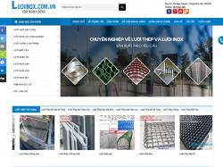 Thiết kế website bán hàng Lưới inox