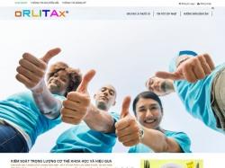 Thiết kế website bán hàng Orlitax