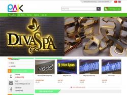 Thiết kế website bán hàng Phước Thành