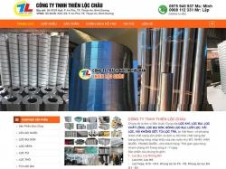 Thiết kế website bán hàng Thiên Lộc Châu