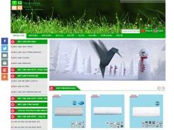 Thiết kế website bán hàng Trần Gia