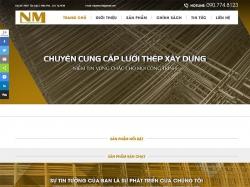 Thiết kế website bán lưới thép Nghiệp Muôn