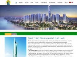 Thiết kế website bất động sản Hưng Phát Land