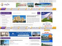 Thiết kế website bất động sản Long An Land