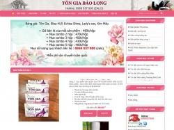 Thiết kế website bệnh viện y tế Tôn Gia Bảo long