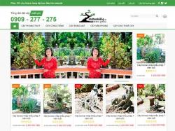 Thiết kế website cây cảnh Vạn Niên Tùng