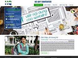 Thiết kế website chuẩn seo Hà Quy