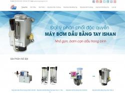 Thiết kế website công nghiệp Dương Anh