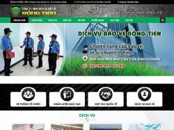 Thiết kế website dịch vụ bảo vệ Rồng Tiên