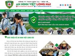 Thiết kế website dịch vụ bảo vệ Việt Long Hải