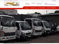 Thiết kế website dịch vụ thuê xe Hưng Nguyên
