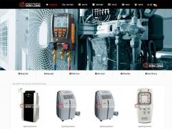 Thiết kế website điện lạnh Sơn Long