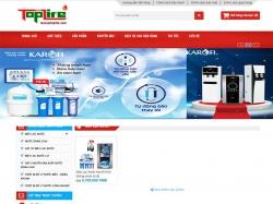 Thiết kế website điện lạnh Trí Việt