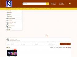 Thiết kế website điện lạnh Tùng Lâm