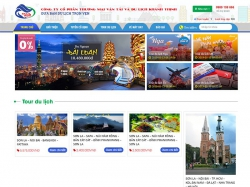 Thiết kế website du lịch Khánh Thịnh