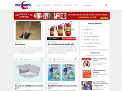 Thiết kế website gia công cắt khắc mica