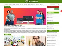 Thiết kế website gia sư bách khoa