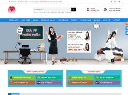 Thiết kế website gia sư Thiên Phúc